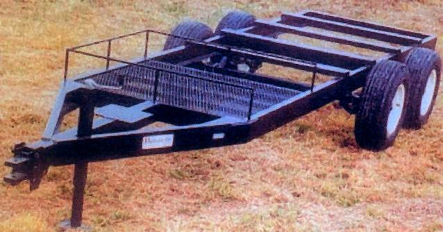 M1250 SX Tandem Trailer