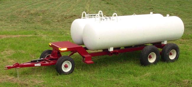 WNDT 1000 Dual Tank Wagon