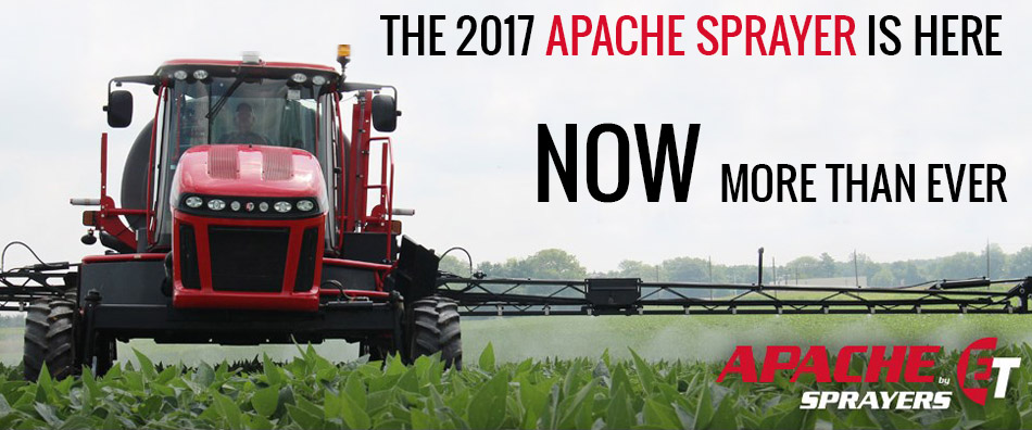 Ohio valley Ag sells Apache Sprayers
